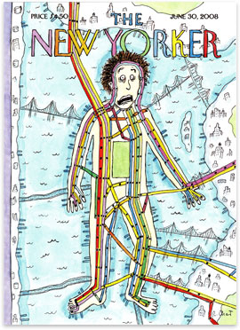 A Roz Chast New Yorker Cover