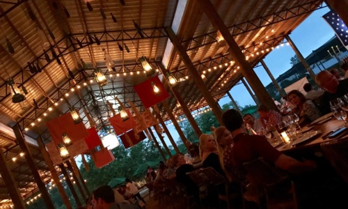 A Special Evening Under the Pole Barn